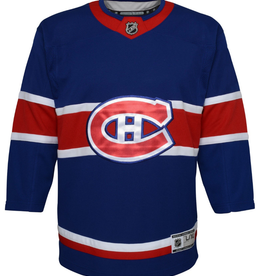 NHL Youth Retro Reverse Jersey Montreal Canadiens Blue