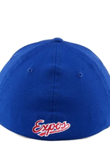 New Era Men's 39THIRTY Team Classic Stretch Hat Montreal Expos Royal