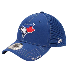 New Era Men's Neo Stretch Fit Hat Toronto Blue Jays Royal