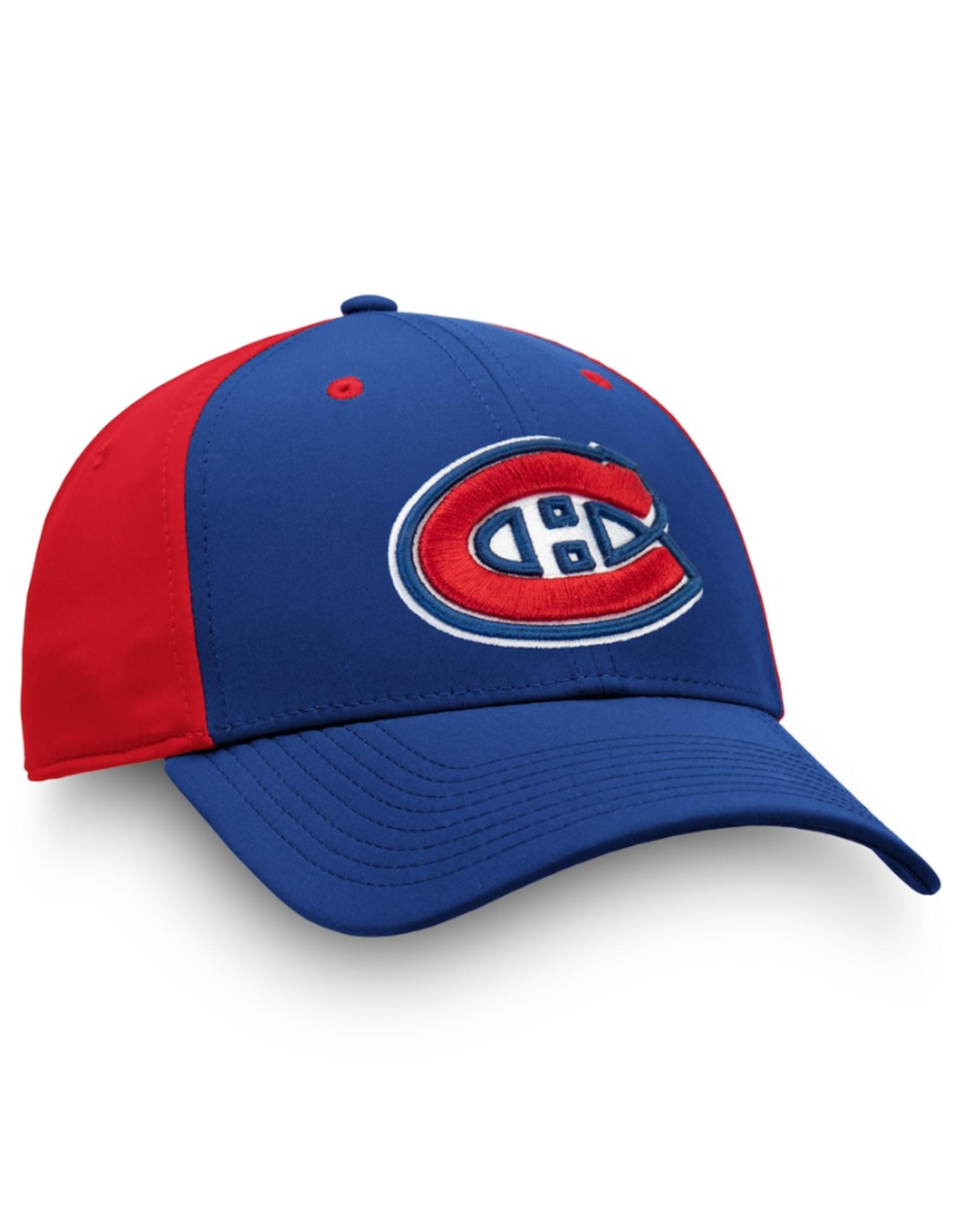 Fanatics Fanatics Men's Iconic Stretch Hat Montreal Canadiens Blue/Red