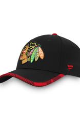 Fanatics Fanatics Men's Iconic Stretch Hat Chicago Blackhawks Black