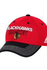 Adidas Adidas Men's '17 Locker Room Hat Chicago Blackhawks Red