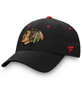 Fanatics Fanatics Men's '20 Locker Room Adjustable Hat Chicago Blackhawks Black