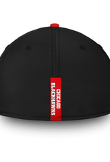 Fanatics Fanatics Men's Iconic Speed Stretch Fit Hat Chicago Blackhawks Black