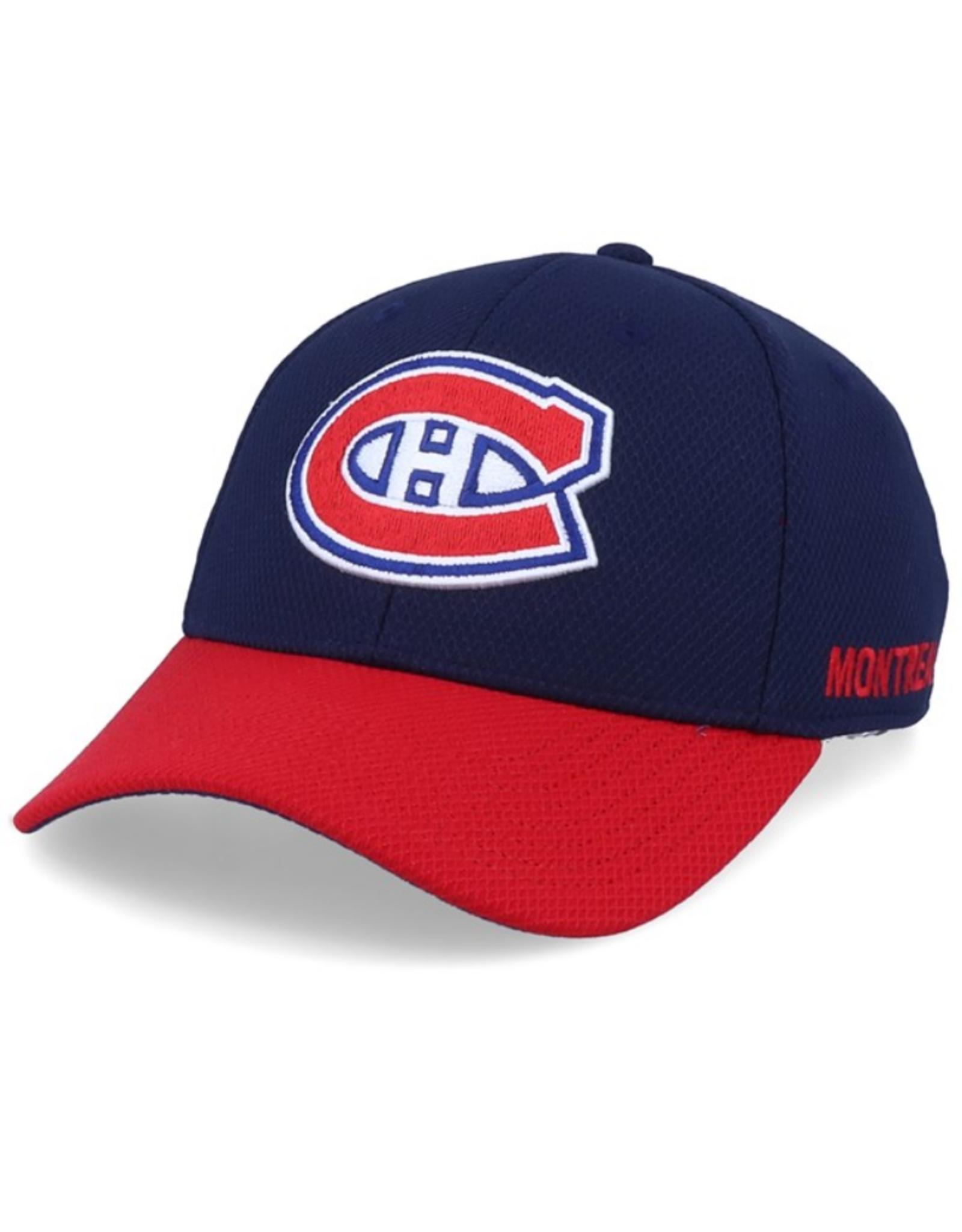 Adidas Adidas Men's Coach Left City Flex Hat Montreal Canadiens Navy