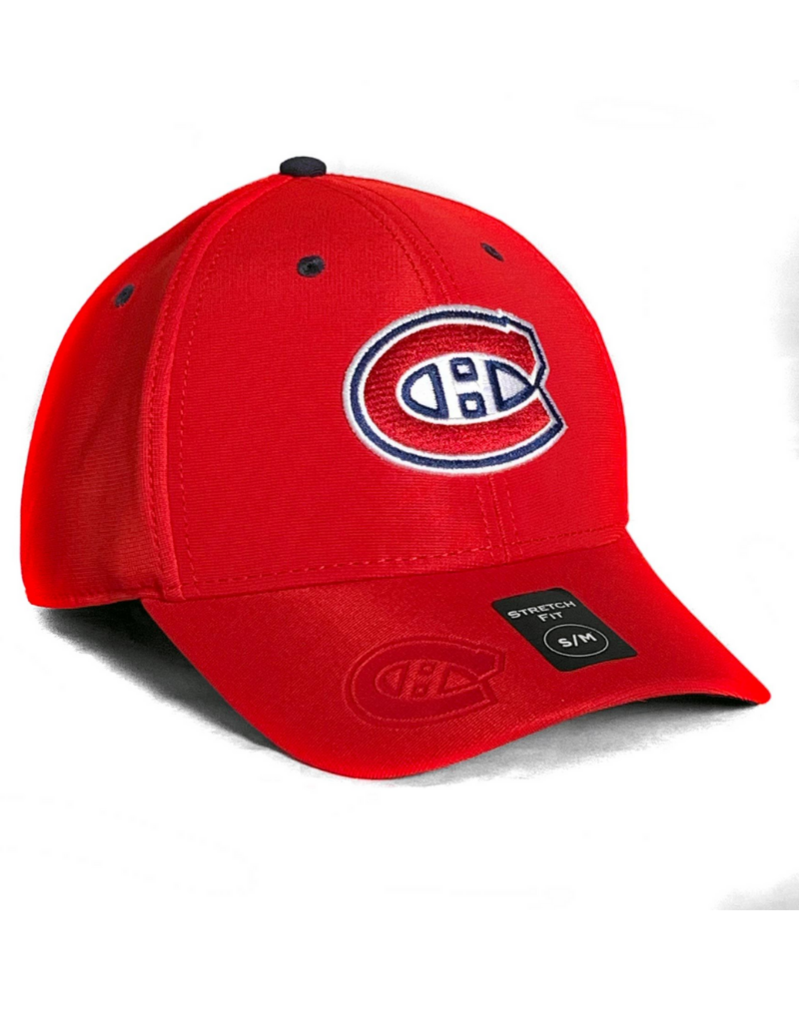 American Needle American Needle Men's E-Boss Hat Montreal Canadiens Red