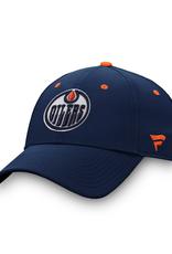 Fanatics Fanatics Men's '20 Locker Room Adjustable Hat Edmonton Oilers Navy