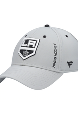 Fanatics Fanatics Men's Authentic Pro Rinkside Speed Stretch Hat Los Angeles Kings Grey
