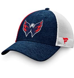 Fanatics Fanatics Men's '20 Locker Trucker Mesh Adjustable Hat Washington Capitals