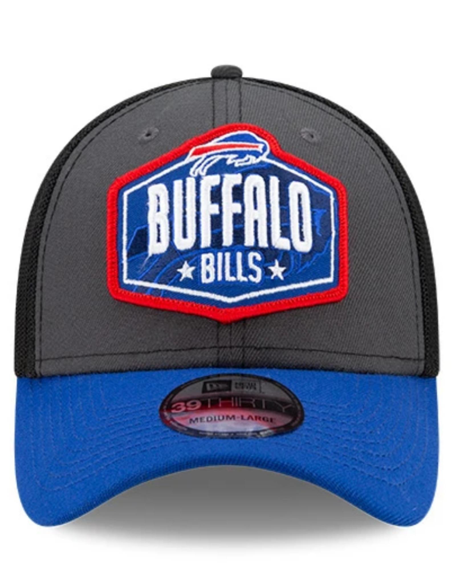 New Era Men's '21 39THIRTY NFL Draft Hat Buffalo Bills