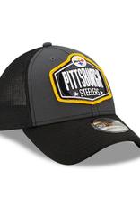 New Era Men's '21 39THIRTY NFL Draft Hat Pittsburgh Steelers