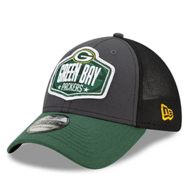 New Era Men's '21 39THIRTY Draft Hat Green Bay Packers