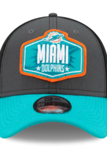 New Era Men's '21 39THIRTY NFL Draft Hat Miami Dolphins