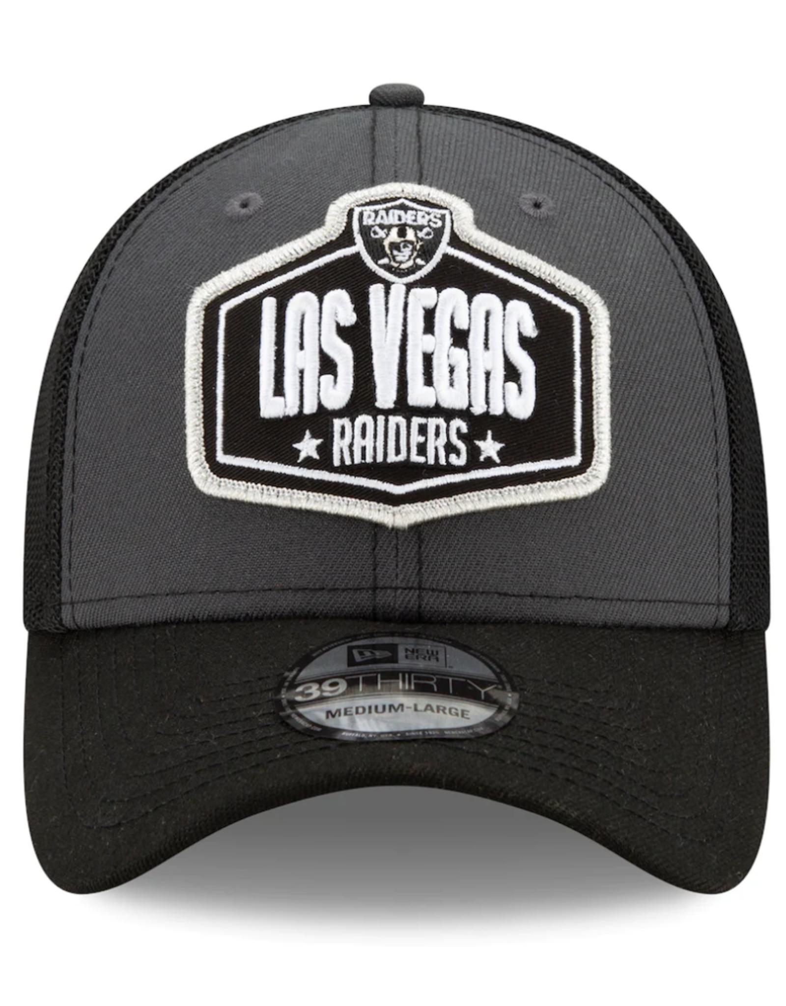 New Era Men's '21 39THIRTY NFL Draft Hat Las Vegas Raiders