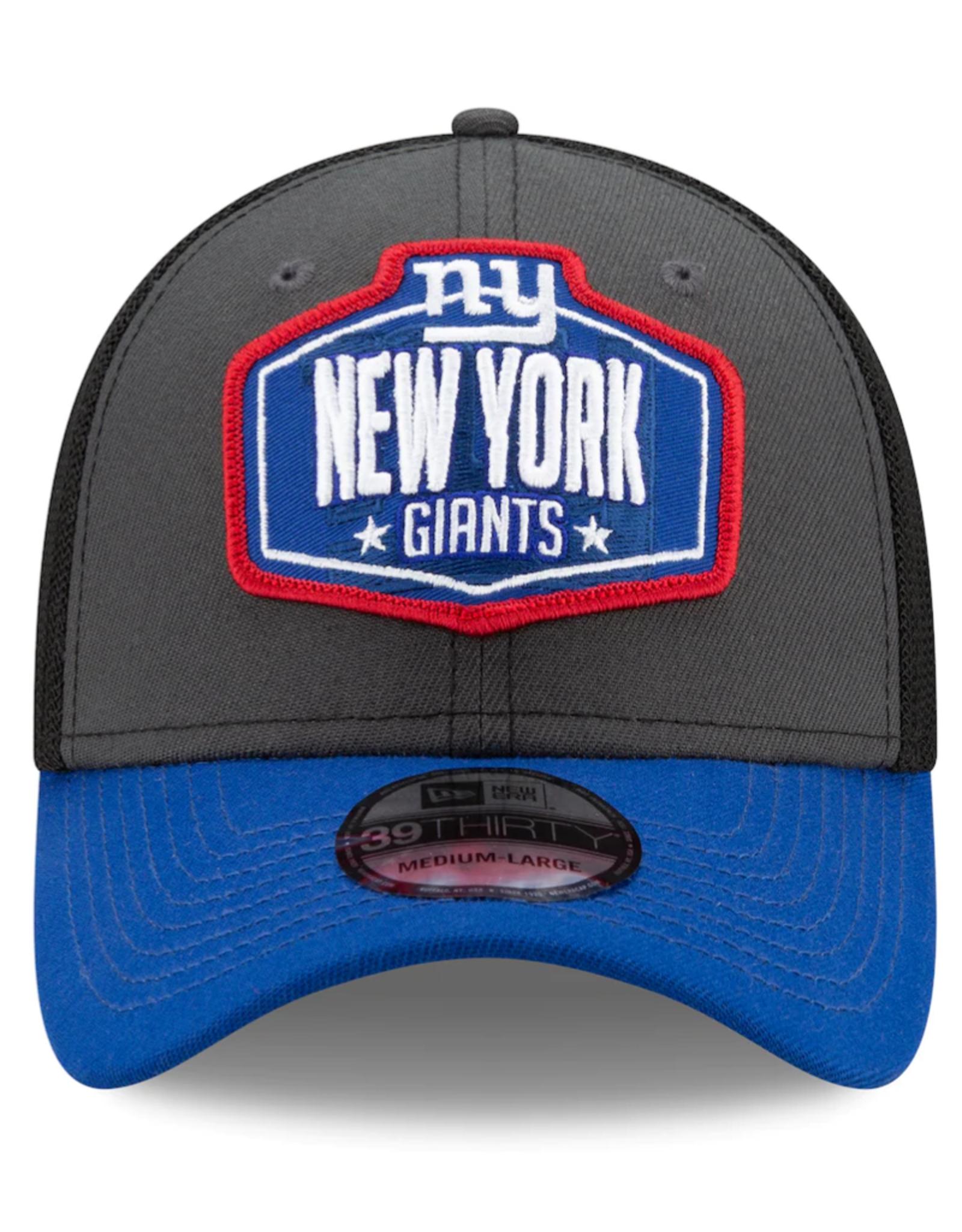 New Era Men's '21 39THIRTY NFL Draft Hat New York Giants
