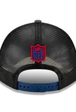 New Era Men's '21 9FORTY Adjustable NFL Draft Hat New York Giants
