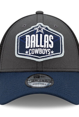 New Era Men's '21 9FORTY Adjustable NFL Draft Hat Dallas Cowboys