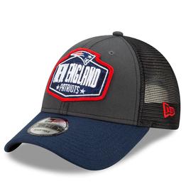 New Era Men's '21 9FORTY Adjustable NFL Draft Hat New England Patriots