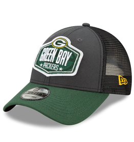 New Era Men's '21 9FORTY Adjustable Draft Hat Green Bay Packers
