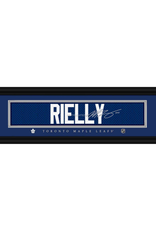 Framed Signature Nameplate Morgan Rielly Toronto Maple Leafs