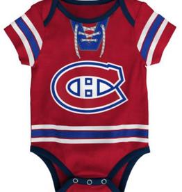 NHL Infant Hockey Pro Diaper Shirt Montreal Canadiens