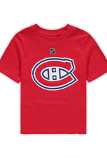 NHL Child's Primary Logo T-Shirt Montreal Canadiens Red