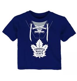 NHL Toddler Mock Jersey T-Shirt Toronto Maple Leafs Blue