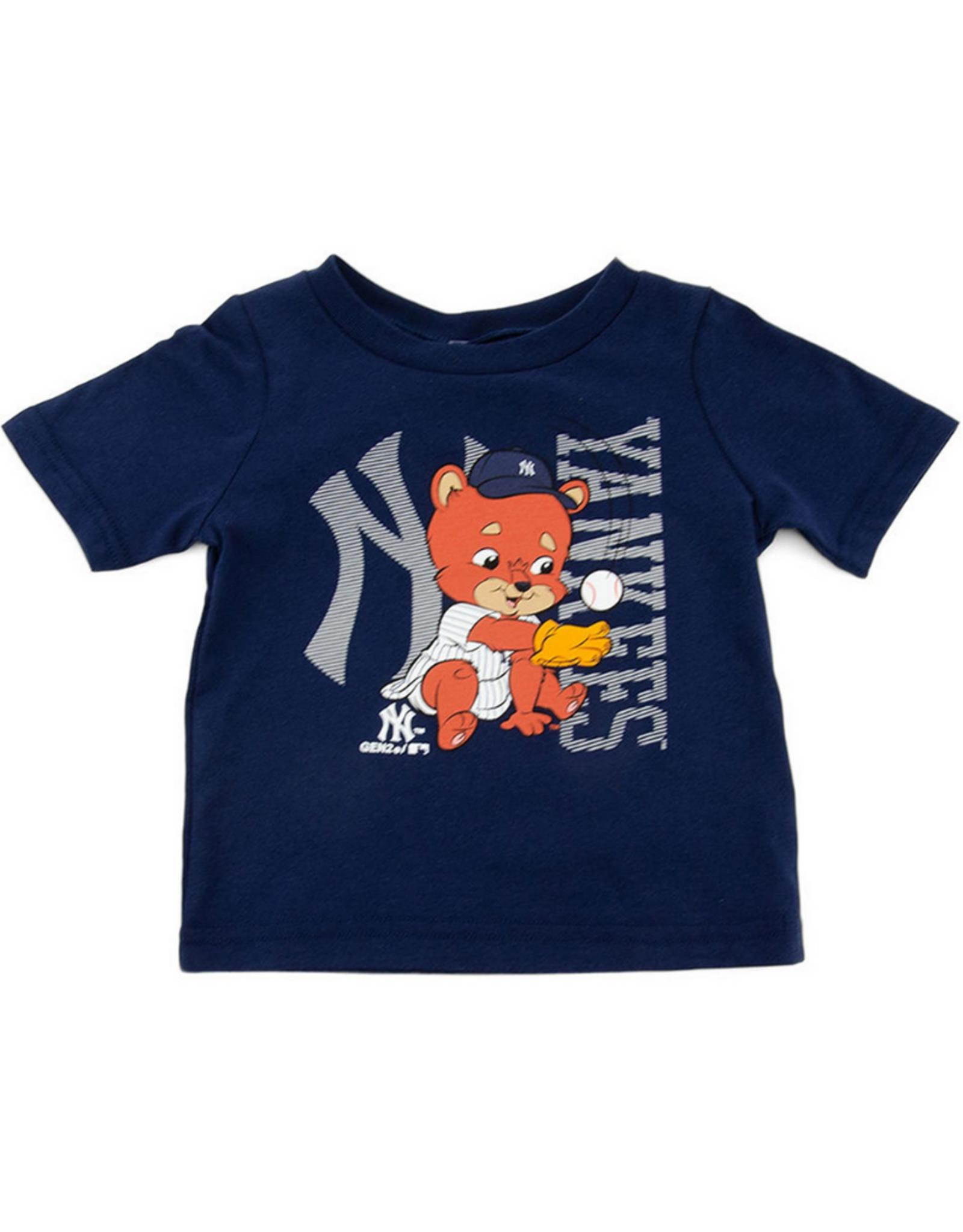 MLB Infant Baby Mascot T-Shirt New York Yankees