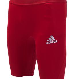 Adidas Adidas Men's Alphaskin Compression Short Red