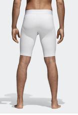 Adidas Adidas Men's Alphaskin Compression Short White