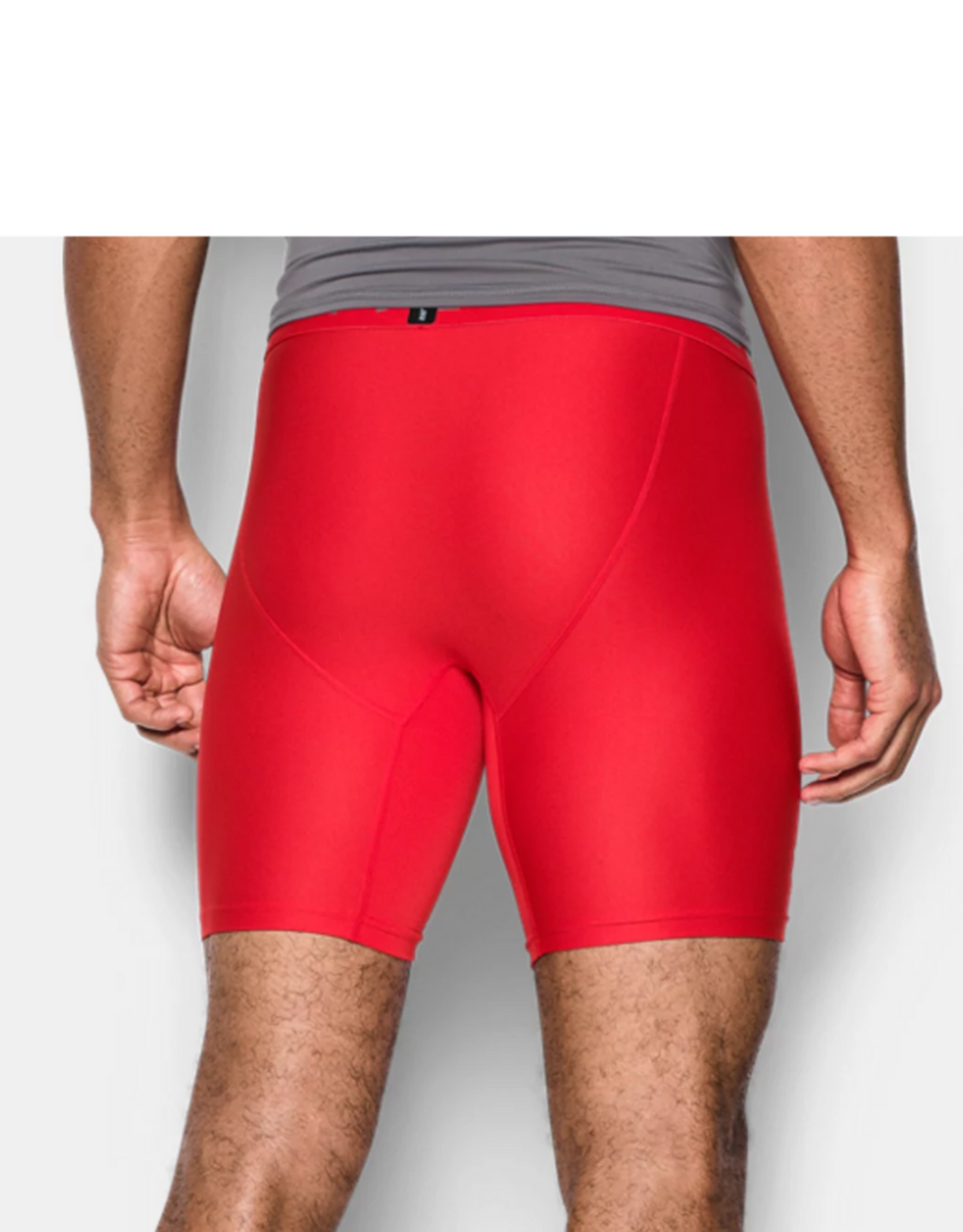 Under Armour Men's Compression Short Red
