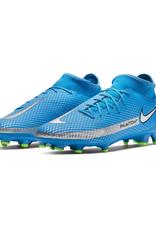 Nike Phantom GT Academy DF Soccer Cleat Blue/Silver
