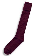 Barbarian Rugby Sock Maroon