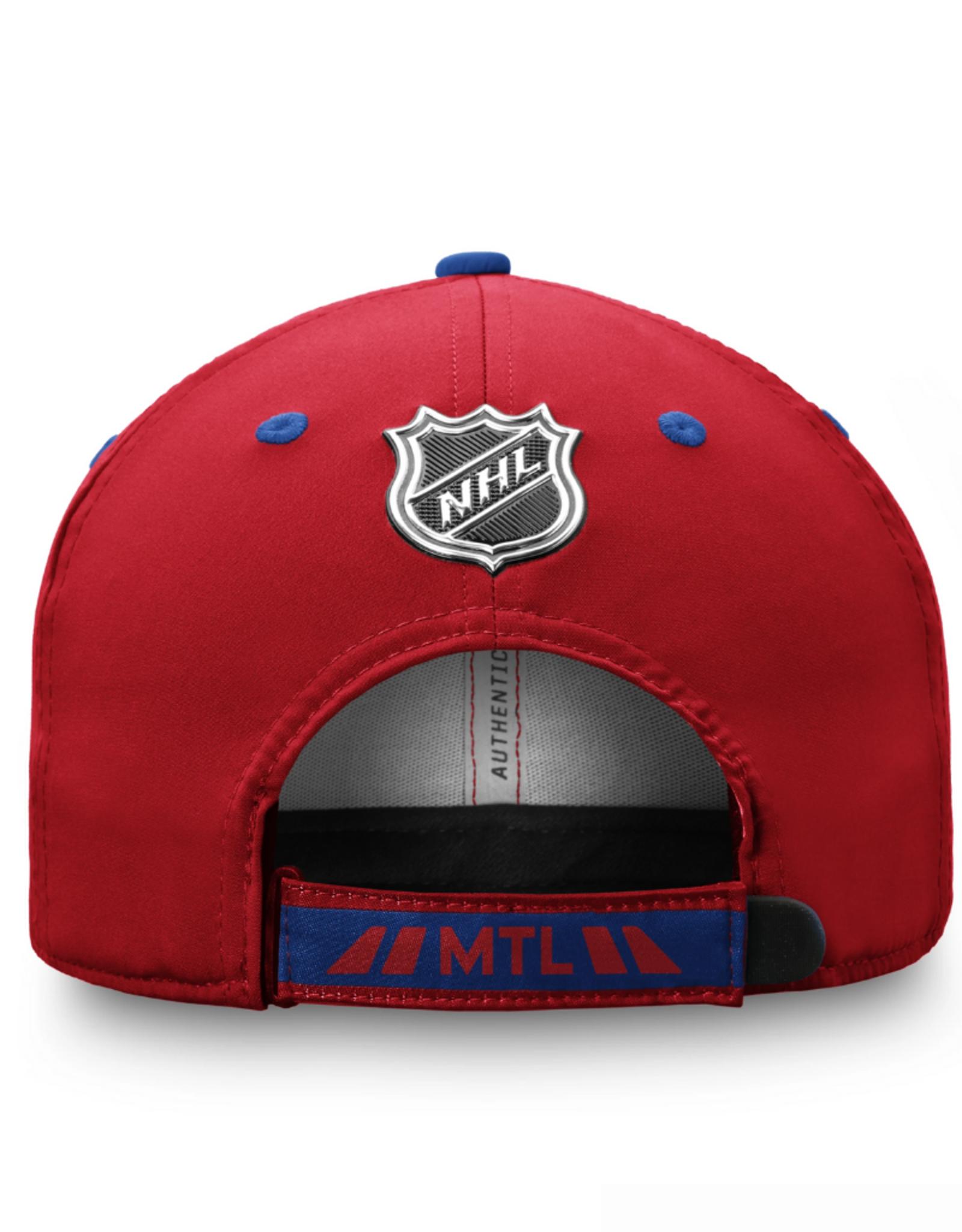 Fanatics Fanatics Men's '20 Locker Room Adjustable Hat Montreal Canadiens Red