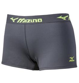 Mizuno Women's Volleyball Practice Short Grey/Lime