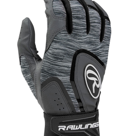 Rawlings Youth 5150 Batting Gloves Grey/Black