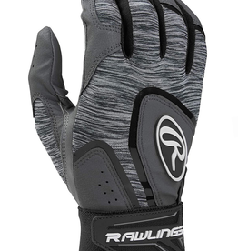 Rawlings Men's 5150 Batting Glove Grey/Black