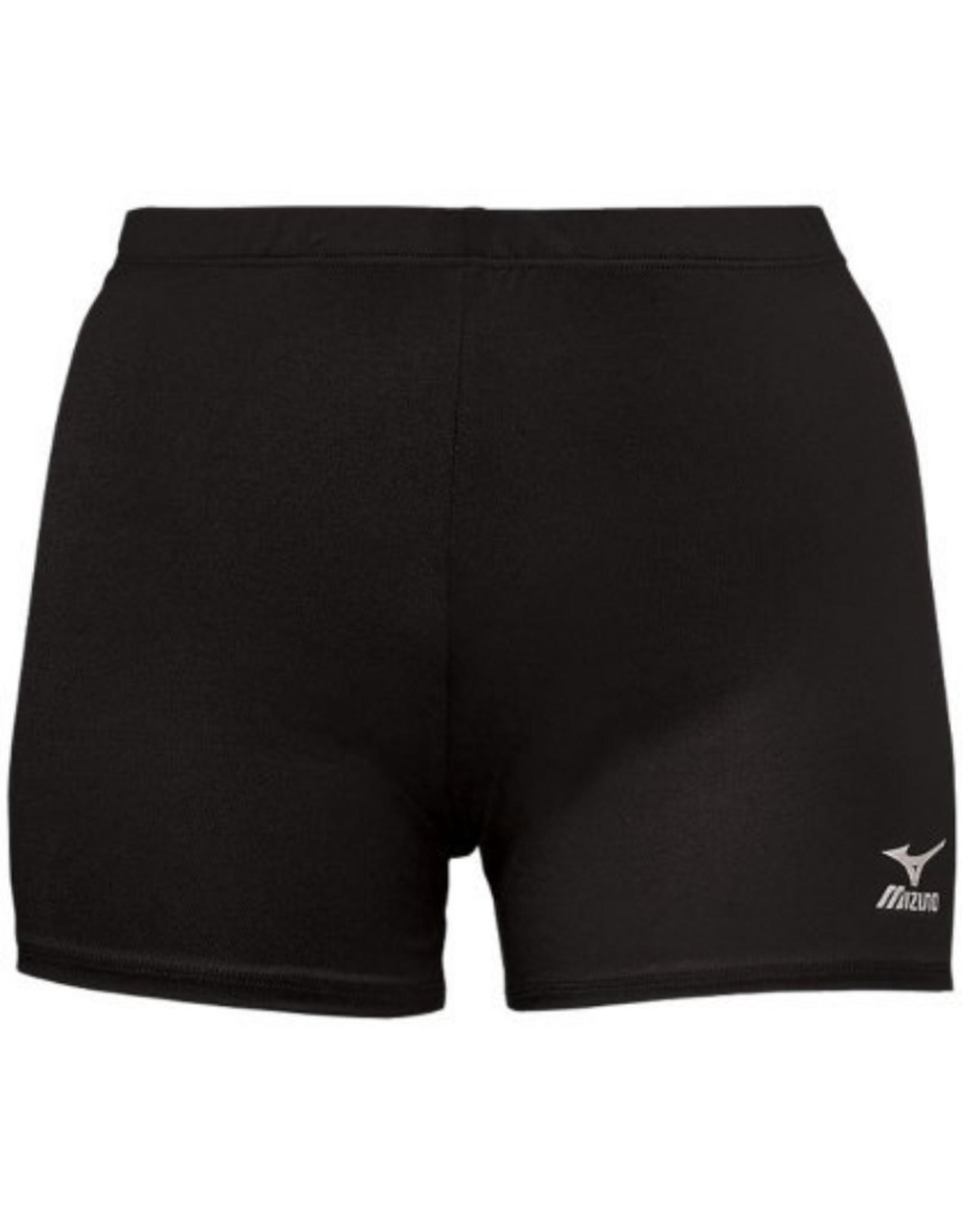 "Mizuno Women's Volleyball Short 4"" Black"