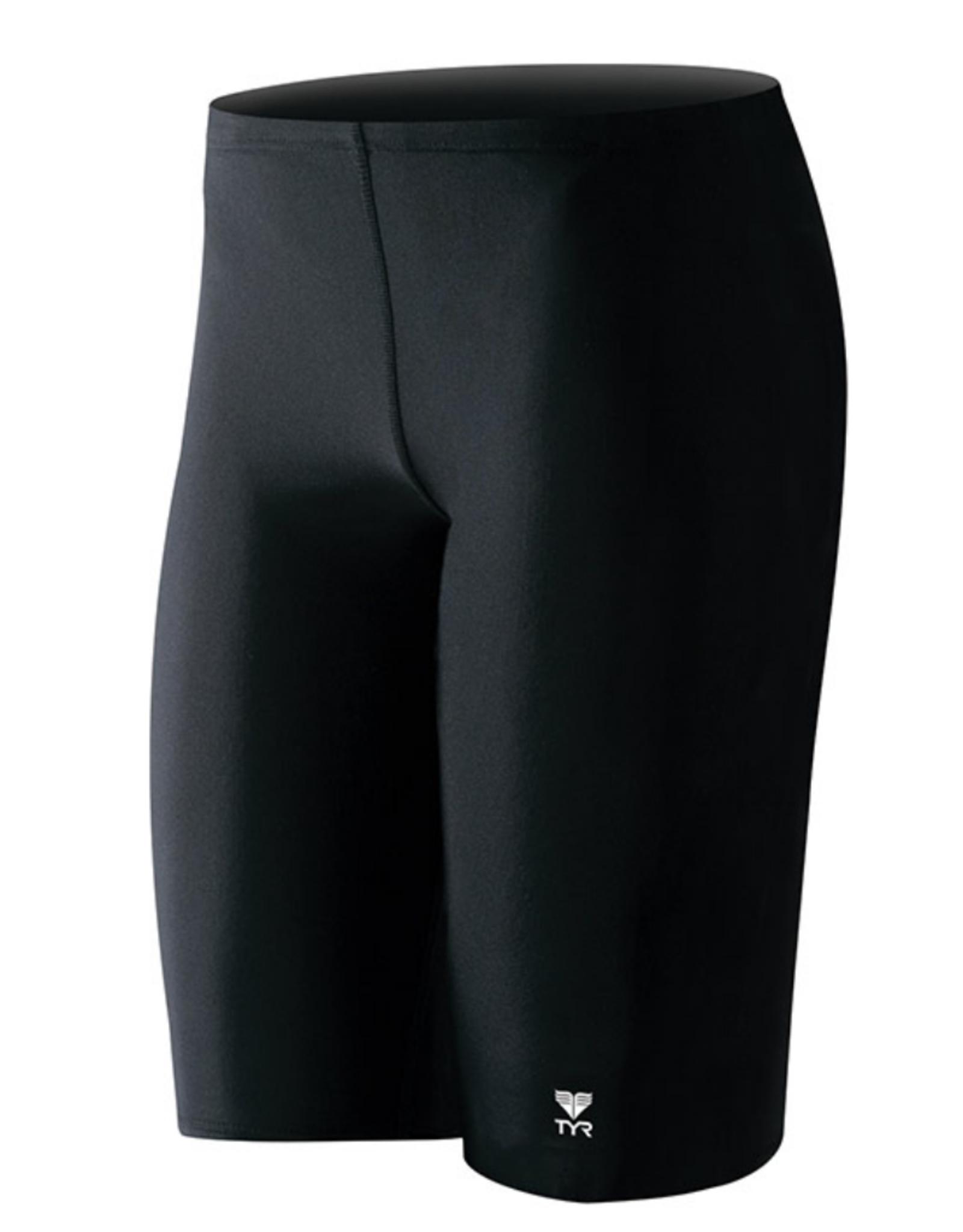 TYR Men's Jammer Swimwear Black
