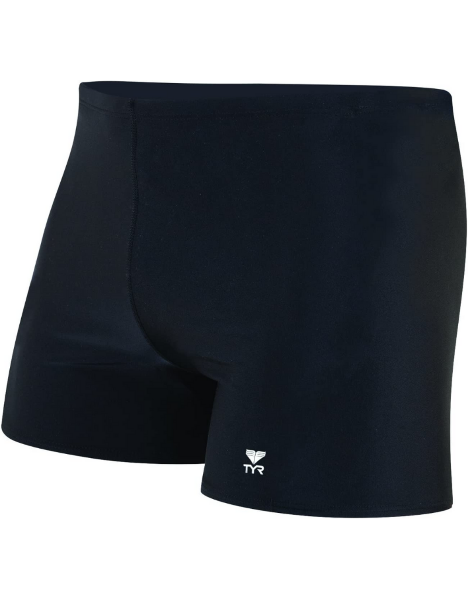 TYR Mens Square Leg Swimwear Black