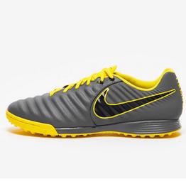 Nike Men's Legend 7 Academy Turf Shoe Grey/Yellow