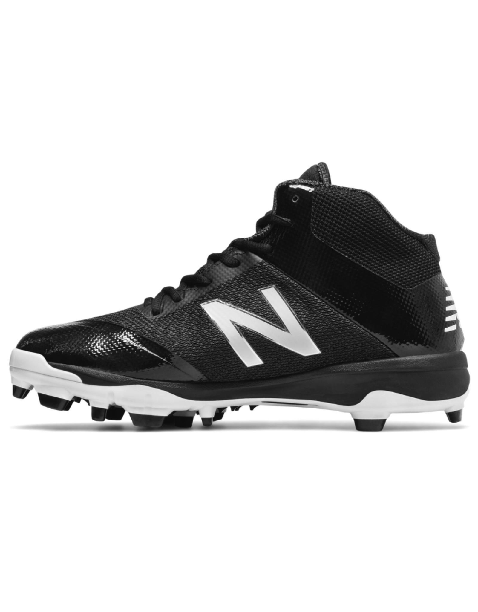 New Balance Men's Mid Softball Cleats Black