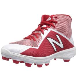 New Balance Men's Mid Softball Cleats Red