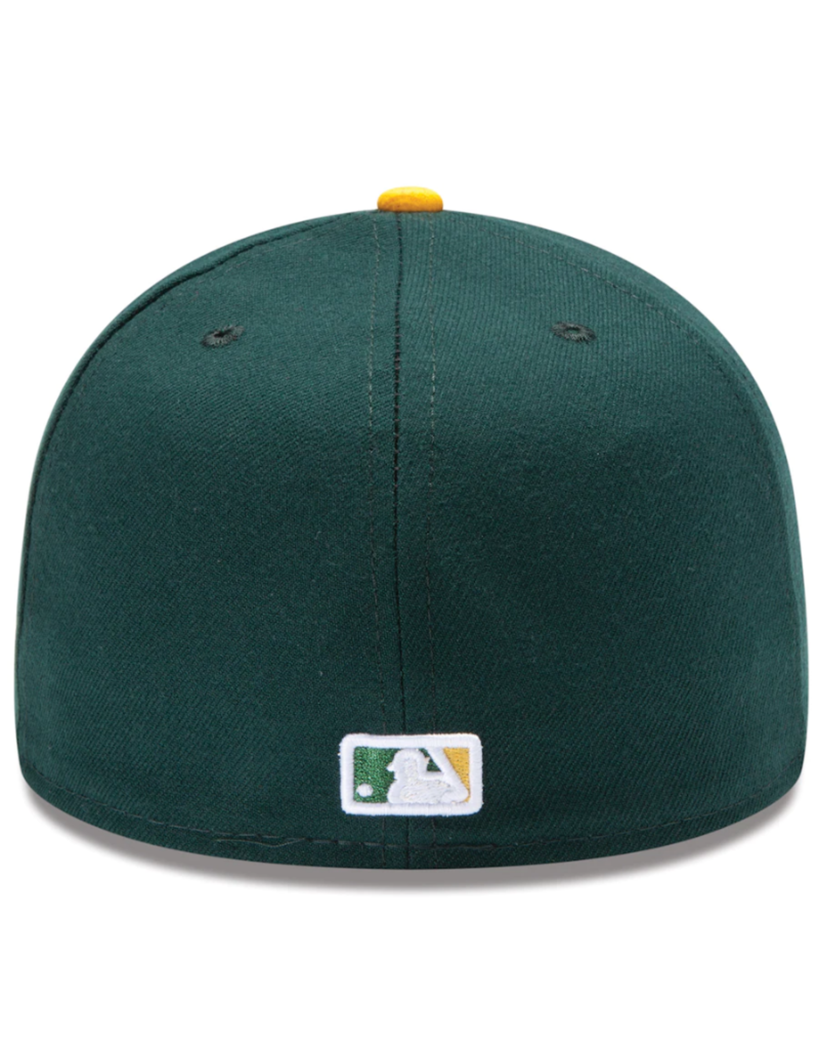 New Era On-Field Authentic 59FIFTY Home Hat Oakland Athletics Green/Yellow
