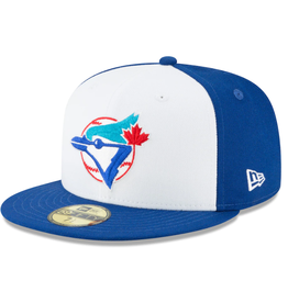 New Era Cooperstown Hat Toronto Blue Jays Royal/White