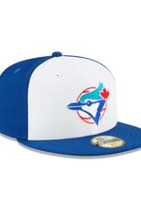 New Era Cooperstown Hat Toronto Blue Jays Royal/White