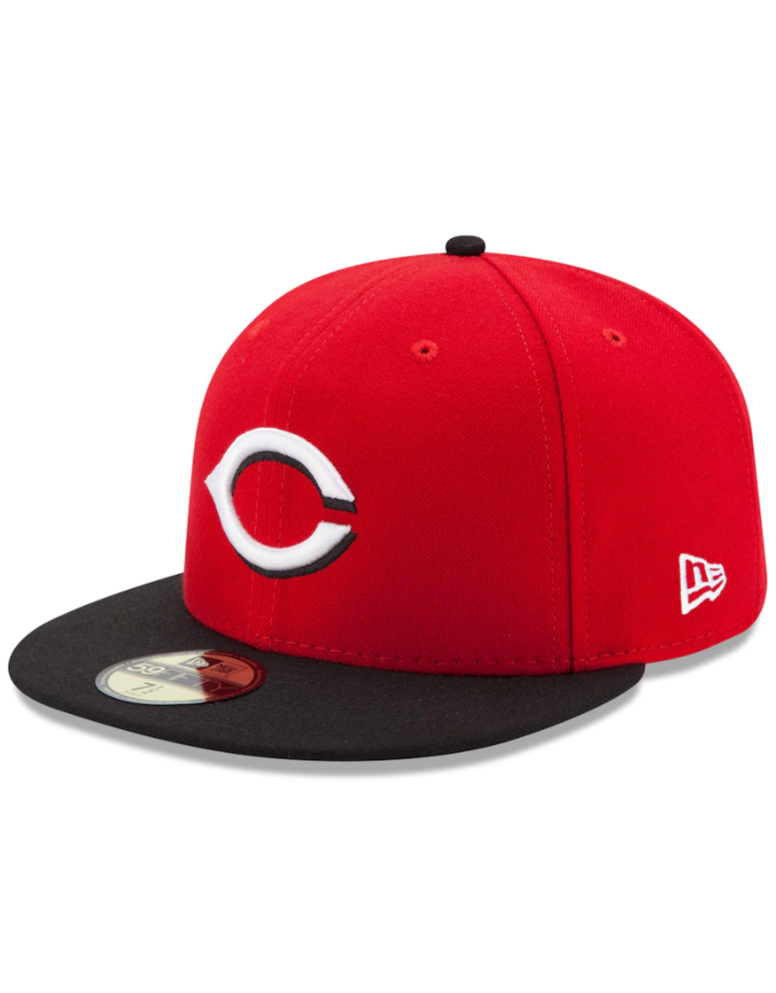 New Era On-Field Authentic 59FIFTY Road Hat Cincinnati Reds Red/Black