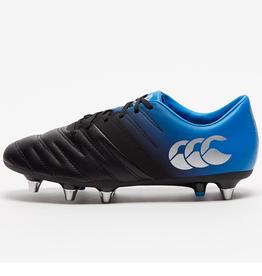 Canterbury Men's Phoenix 2.0 Rugby Cleats Black/Blue