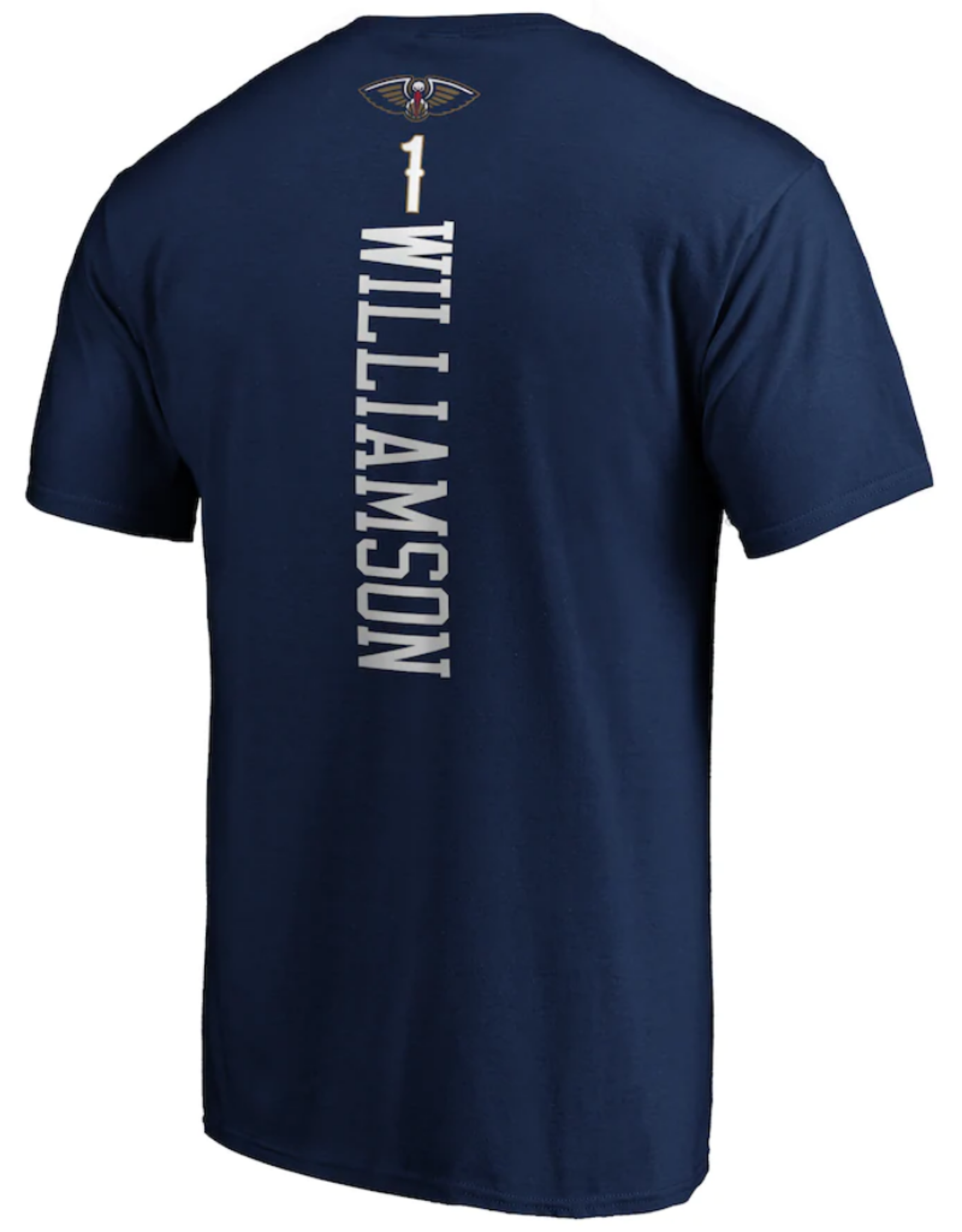 Fanatics Fanatics Men's Playmaker T-Shirt Williamson #1 New Orleans Pelicans Navy