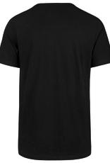 '47 Men's Team Logo T-Shirt Los Angeles Lakers Black